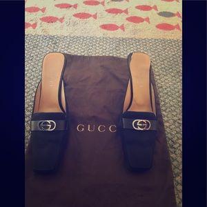 Vintage Gucci Mules